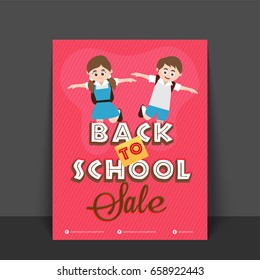 best offer sale template banner flyer stock vector royalty free