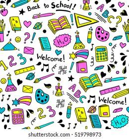Back School Wallpaper Images, Stock Photos & Vectors