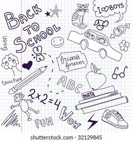 Back to school sketch