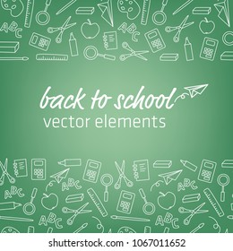 back to school – template