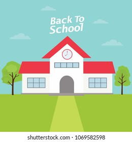 Back to School with White School Building