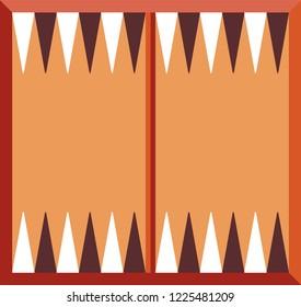 backgammon game background. board game