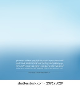 Background abstract blue gradient vector.