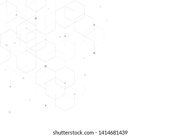 Background of abstract geometric shapes Modern technology illustration