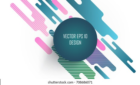 Background with Abstract Shapes, Design pattern and geometric elements.