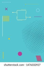 Background abstrak vector design graphic