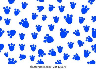 Background - Animal Foot Print