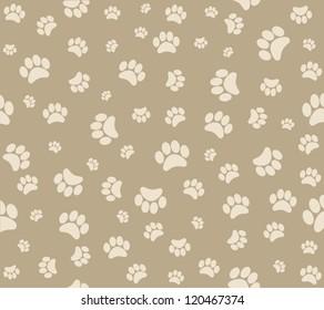 background animal footprints