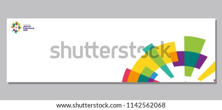 background banner 18th asian games 450w 1142562068 - Asian Games 2018 Vector