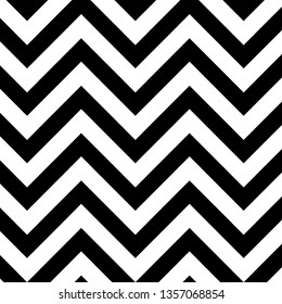 background with black and white seamless zigzags