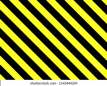 Background with black and yellow stripes vector illustration