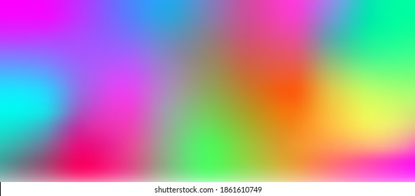 Background bright abstract blurred vector multicoloured gradient illustration banner