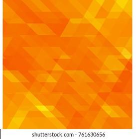 Background of bright orange color