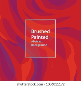 background brushed painted abstract line  red  color , templates for cover posters, banners, flaers,