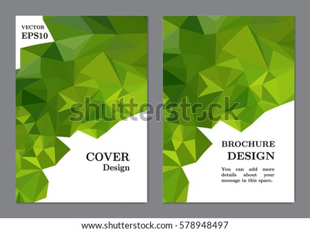 background business book cover design template のベクター画像素材
