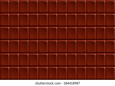 Background chocolate bar