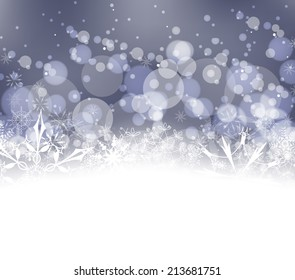background for Christmas and happy new year
