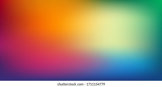 Background color multicolor gradient background rainbow colourful blurred