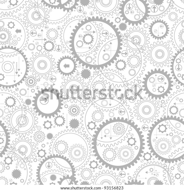 background consisting of gears and arrows.the concept of motion
