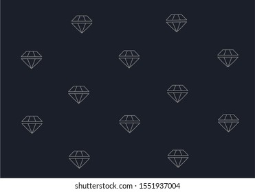 BACKGROUND WITH CRYSTAL CUT DIAMOND