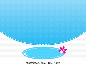 Background cyan pattern