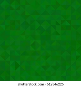 background of deep green triangles