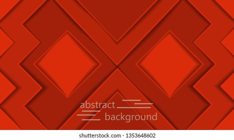 background design in 3D style dynamic texture. EPS10 vector background, paper cut, Vector graphics, ready layout for business card design, print and web products