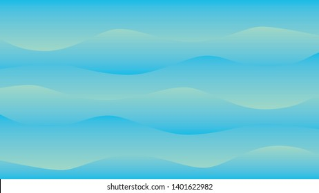 background design with wave and gradient