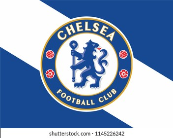Background Flag ofchelsea color wallpaper