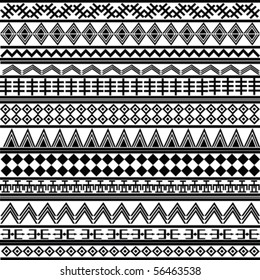 Background with geometrical shapes, pattern