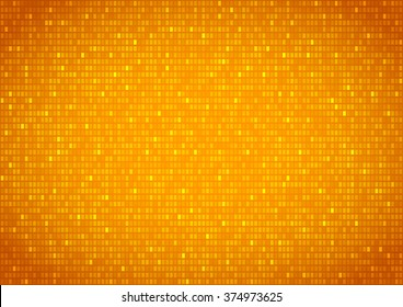 Background with gold plates screen , vector background