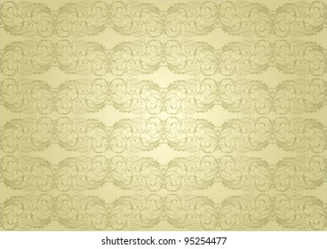 Background golden pattern.File contain Clipping path.