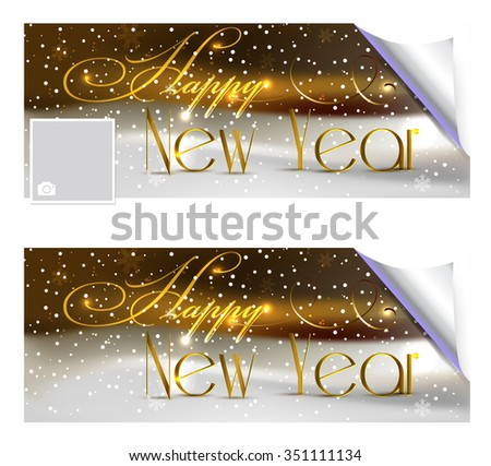 Background Happy New Year Greetings Stock Vector (Royalty Free ...