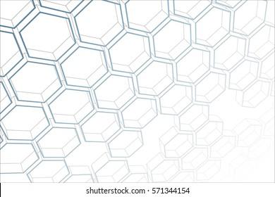 background hexagon net hexagon Moh, 3d, abstract background