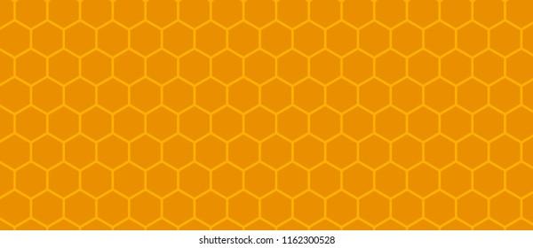 Background of honeycomb. orange pattern