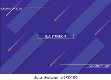 background. Icon Dynamic composition of figures. Minimal geometric abstract background. Futuristic design gradient shapes. Creative illustration perfect for cover. EPS10 Vector