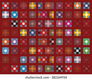 background illustration color squares decorative simple modern abstract art wallpaper