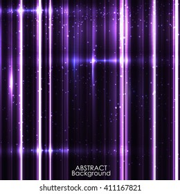 Background image with light purple flares.