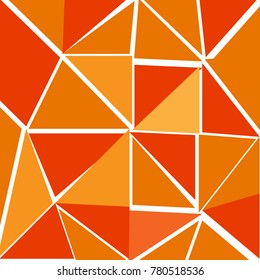Background image Orange triangle alternates with light orange and dark orange.