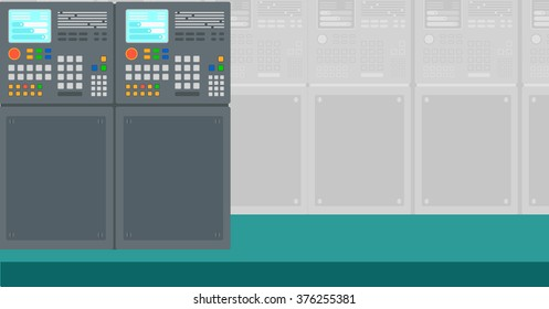 Background of industrial control system.