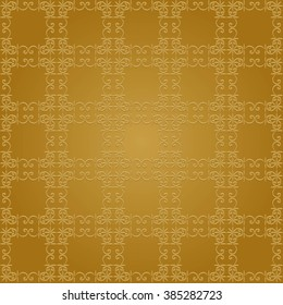 Background with Islamic Seamless Pattern. Muslim Background for presentation,  flyer or brochure. Holiday  Ramadan Greeting Card Background. Golden Light Abstract Background geometric pattern.