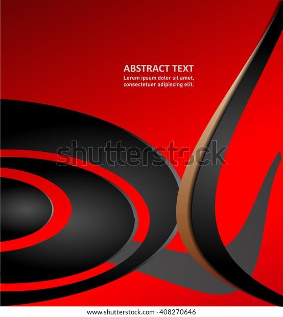 Background Modern Design Text Message Website Stock Vector (Royalty
