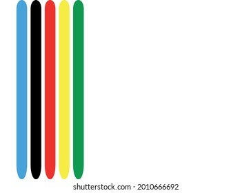 background with multicolored vertical stripes.