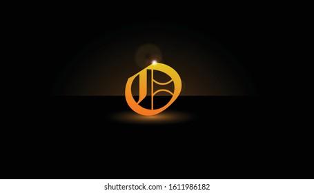 Background O Initial 3D.  The initials O vector.  Initials O for design logos