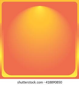Background. Orange