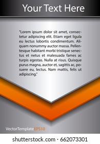 background orange and silver pattern