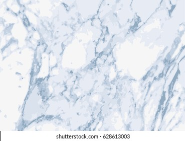 Background or overlay texture of light marble in shades of blue and grey. EPS10 vector
