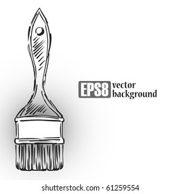 Background Paint Brush, eps8