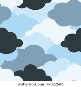 background pattern of a cloud
