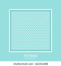 Background Pattern Stripe Seamless Vector Texture Green Aqua Pastel Two Tone Colors With Square Frame